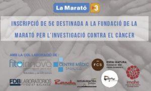 Colaboración en LaMarató TV3 contra el cáncer