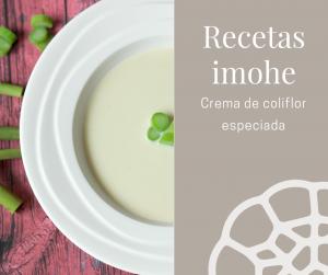 Crema de coliflor especiada